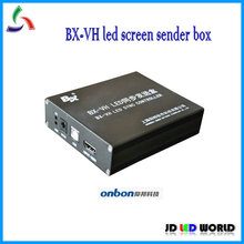 BX-VH synchronous full color control card for big screen BX video led screen sender box(China)