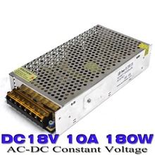 DC 18V 10A 180W Small Volume Single Output Switching power supply for LED CNC 3D Print Transformator 110V 220V Ac To Dc 18v ups