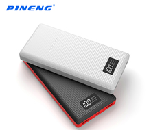 Original PINENG PNW - 969 Dual USB Charging 20000mAh Portable Power Bank Battery Charger with Built-in Li-Polymer Battery