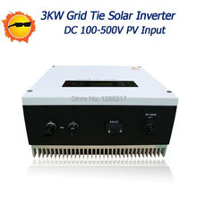 3000W Grid Tie Inverter MPPT Function Pure Sine Wave Output On grid Inverter for Solar Power System