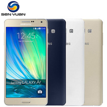 Original Samsung Galaxy A7 A7000 Mobile Phone Dual SIM 4G Octa-core 13MP Camera 5.5''Screen 2G RAM 16G ROM A7 Cell Phone(China)