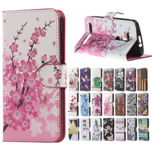 Pink Plum Magnetic Leather Wallet Flip Handbag Book stand Cover Case for Coque funda Asus Zenfone go zb500kl cases caso