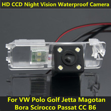 For Volkswagen VW Passat CC B6 Polo Hatchback Golf Jetta Magotan Bora Scirocco Car CCD Night Vision Backup Rear View Camera