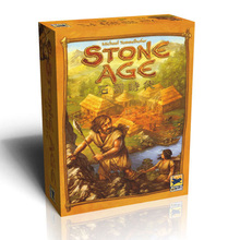STONE AGE Super Classical Germany Board Game table Games Cards Chinese Version Send English Instructions Easy To Play(China)