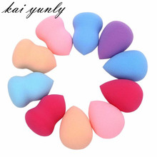 10pcs Pro Beauty hotMakeup Cosmetic Puff Blender Foundation Puff Multi Shape Sponges New Aug 31