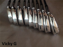 VickyG Golf Clubs RSi 1 Iron Set RSi 1 Golf Irons 4-9PAS R/S Flex Steel(Graphite) Shaft With Head Cover(China)