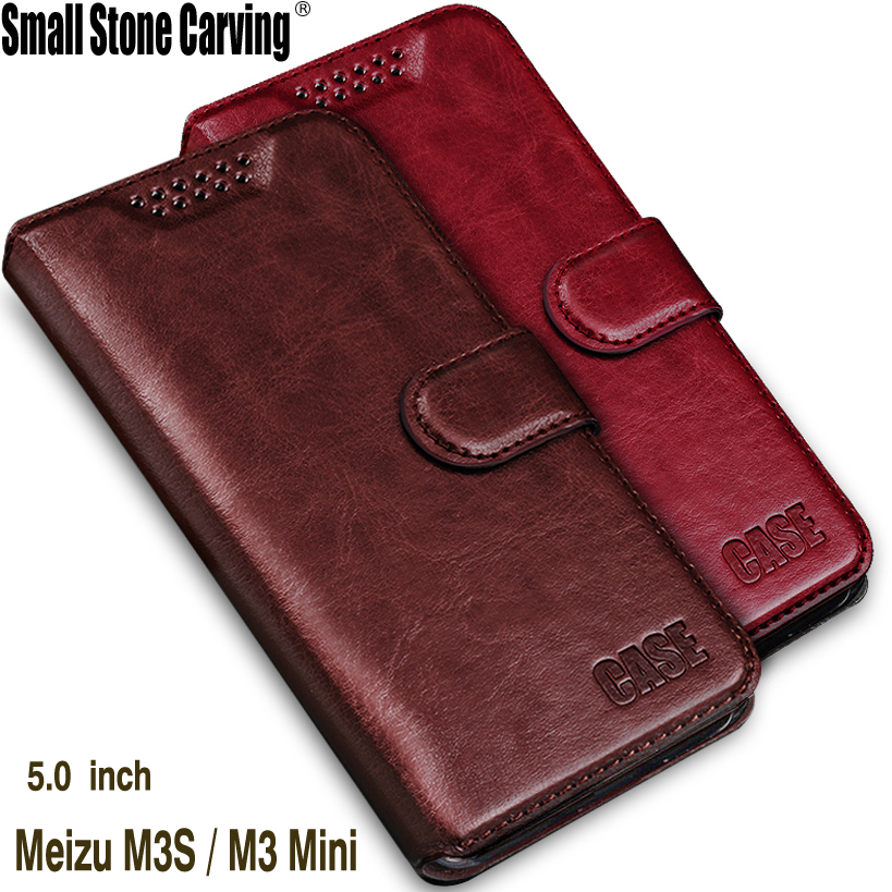 Meizu m3s Case Cover Meizu m3s Mini Case Luxury Flip Leather Case Funda Meizu M3S Meizu M3 Mini Cover Phone Cases Coque