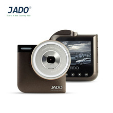 JADO D760 Small Size Leather Pattern Car Camera 2.4 Inch TFT HDR LCD 920*1080 Vehicle Video Recorder DVR Brown Motion Detection(China)