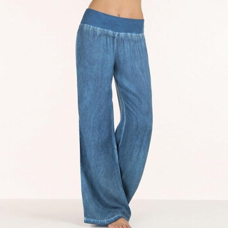 Celmia-Plus-Size-S-5XL-Trousers-Women-High-Waist-Long-Harem-Pant-Casual-Loose-Pleated-Denim (2)