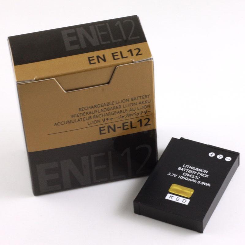 EN-EL12 Battery EN EL12 ENEL12 Batteries For Nikon Coolpix P300 P310 P330 S6200 S6300 S9400 S9500 S9200 S8200 S620 S6000<br><br>Aliexpress