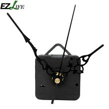 2017 High Quality New Quartz Wall Clock Movement Mechanism Black Hands DIY Repair Parts Kit WN0410(China)