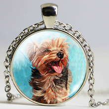 Charms Jewelry Simple Dog Image Design Jewelry Beagle Necklace Cute Pet Dog Jewelry Dog Picture Locket Pendant Gift for Her