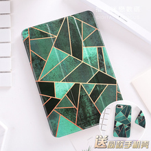 "For New iPad 9.7 2017 Green Diamond Flip Cover For iPad Pro 9.7"" Air Air2 Mini 1 2 3 4 Tablet Case Cover Protective Shell Bag"