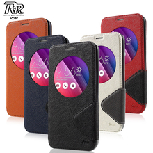 Phone Cover Bag for Asus zenfone 2 laser ROAR KOREA Diary View Window Leather Case for Asus Zenfone 2 Laser ZE550KL(China)