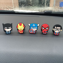 2017 Cute Cartoon For Iron Man Captain America Car outlet perfume original auto Air Freshener Car Air Conditioning Vent Clip