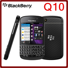 Q10 Original Unlocked Blackberry Q10 Dual Core 8MP 16GB ROM 2GB RAM Bluetooth WIFI 2100mAh Refurbished Smartphone Free Shipping
