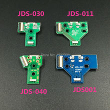 For Sony Playstation 4 PS4 Pro Controller USB Charging Board Socket Circuit JDS-001 JDS-011 JDS-030 JDS-040 with Ribbon Cable