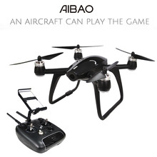 Walkera Aibao 4CH 2.4G FPV Drone With 4K HD Camera APP Virtual Racing RC Quadcopter RTF