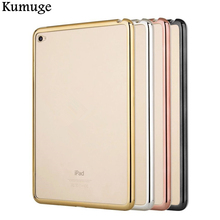 Fashion Case for Apple iPad Pro 9.7 Silicon Case Cover Clear Transparent Ultra Thin Shell Tablet accessories(China)