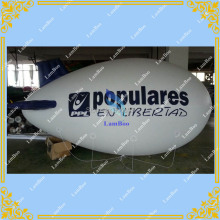 Hot sale 4m Long Inflatable Airship,Inflatable Advertising Blimp, Zeppelin with your LOGO for Different Events