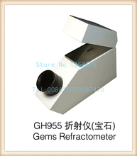 gh955 Gemelogical Gemstone Gem Refractometer with Built in Light 1.30-1.81 RI Range, diamond testing machine