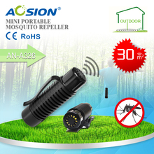 Aosion Free Shipping Portable Mosquito Repellent Ultrasonic Wave Repeller Technology Safe, Lightweight and Portable Bug Zapper