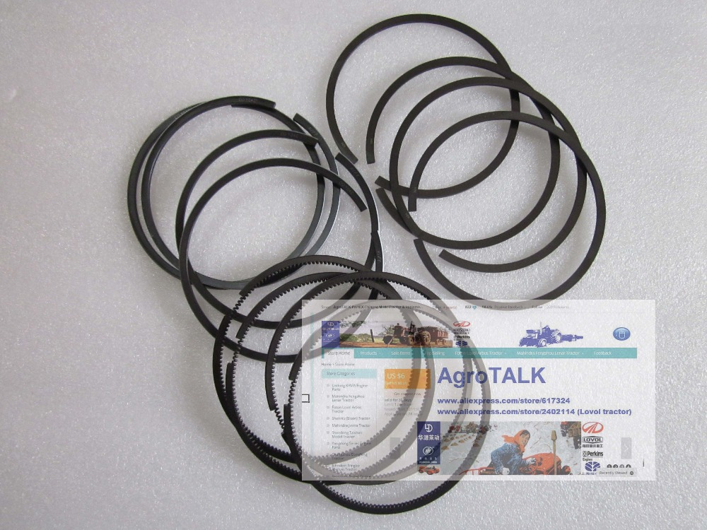 Y4100D engine parts, the set of piston rings, engine of generator set<br>