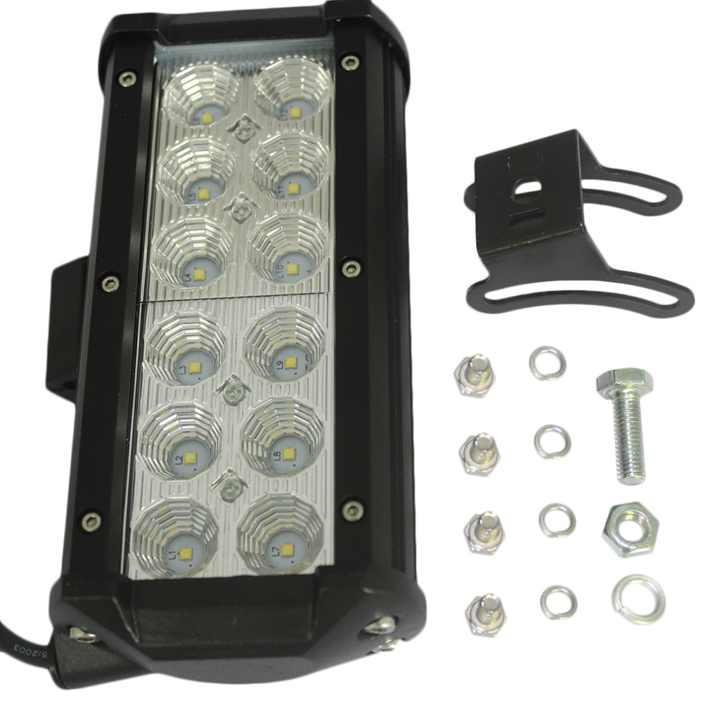 1pc 7Inch 36W LED Work Light Bar for Indicators Motorcycle Driving Offroad Boat Car Tractor Truck 4x4 SUV ATV Flood<br><br>Aliexpress