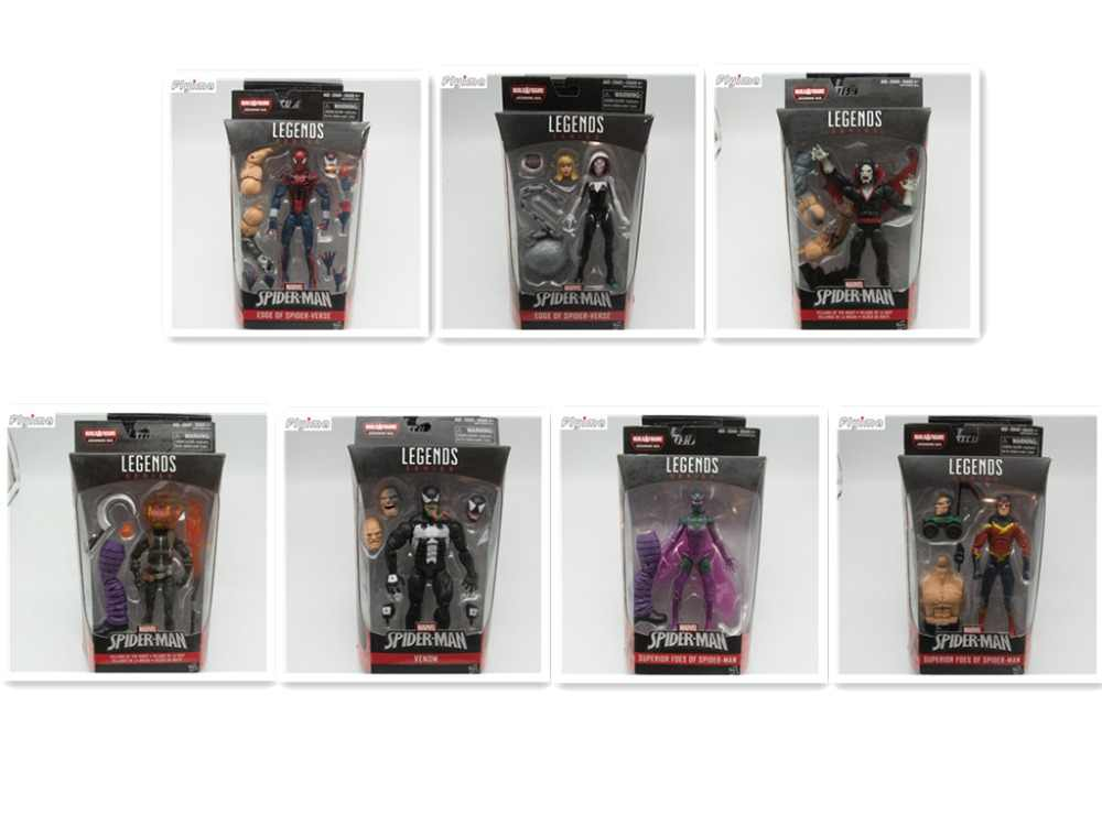 6e9097d2cf65 6'' action figure Marvel Legends EDGE OF SPIDER-VERSE Collection model doll  toys