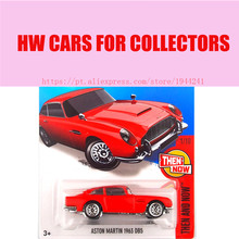 Toy cars Hot Wheels 1:64 2016 aston martin 1963 DB5 cars Models Metal Diecast Car Collection Kids Toys Vehicle For Children(China)