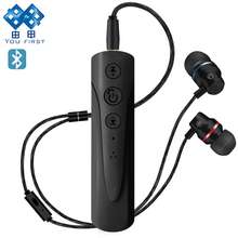 Buy YOU FIRST Wireless Earphones Sport 3.5mm Bluetooth Receiver Bluetooth Earphone Handsfree Noise Cancelling Mobile Phone for $1.31 in AliExpress store