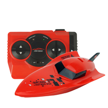Mini RC Bait Boat 6CH Radio Remote Control Speedboat Kids Outdoor Toy RC Ship Fishing Boat for Fishing Children Gift(China)