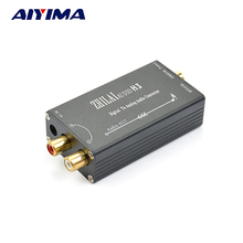 Aiyima Digital Decoder DAC Audio Converter TV Fiber Coaxial Signal Converted to Analog Audio R / L Output