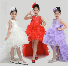 Little Girl Wedding Dress 2017 New Girls Pageant Dress Fashion High-grade Girl Christmas Dresses Cute Childrens Clothes