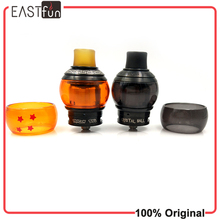 Fumytech Dragon Ball RDTA CRYSTAL RDTA Electronic cigarettes atomizer with Glass tube Japanese organic cotton