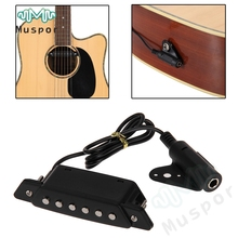 Belcat Sound hole Pickup with Active Power Jack for Acoustic Classic Guitar Pick Up String Instruments Accessories(China)