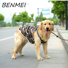 BENMEI Dog Vest Clothes Fashion 2017 Hot Sale Pet T-Shirt Spring Summer Top Quality Camouflage Color Dog Tank Top
