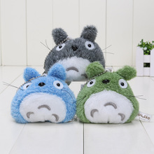 10pcs/lot Free Shipping New Totoro plush toys car accessories plush Totoro pendant dolls baby toy keychains(China)