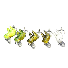 2017 New Arrival 5pcs 4+1.5cm /5g Fishing Locust Lures Set Spinner Baits CrankBait Bass Tackle Hook Fishing Lures