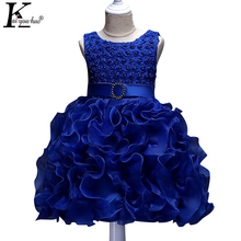Buy New Baby Girls Dress Sleeveless Tutu Children Princess Wedding Dresses Girls Christmas Party Dress Costume Kids Clothes for $12.50 in AliExpress store