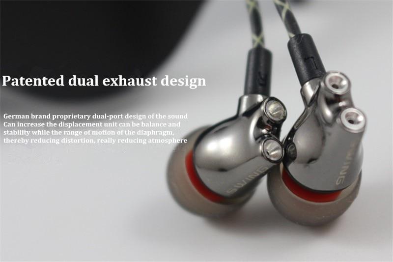 Wooeasy DIY IE800 Earbuds HiFi In-ear Ceramic Earphone Earbud Earbuds Wth Microphone Top Quality HiFi In-Ear Headset 3