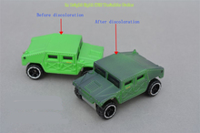 Hot Wheels Discoloration SUV Alloy Car Models Cheap Sale Hot Wheels Car Toy Best Boys Christmas & Birthday Gift Free Shipping(China)