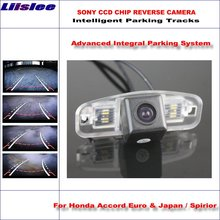 Buy Liislee Intelligent Parking Tracks Car Rear Camera Honda Accord Euro & Japan Backup Reverse / NTSC RCA AUX HD SONY for $43.52 in AliExpress store