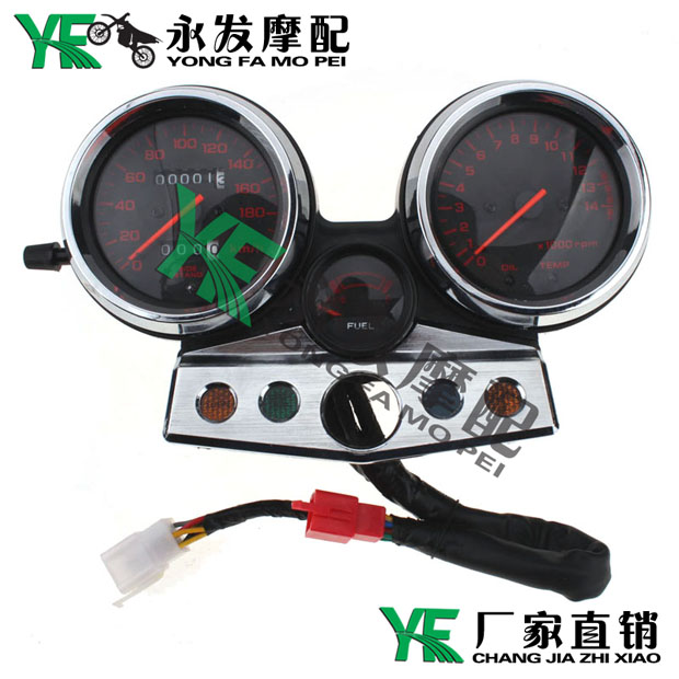 For CB400 CB 400 Year 1995 1996 1997 1998 Motorcycle Gauges Speedometer Tachometer Odometer Cluster KM/H RPM Instrument Assembly<br><br>Aliexpress
