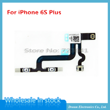 MXHOBIC 10pcs/lot Volume Mute Control Silent Button Flex Cable Replacement Repair Parts For iPhone 6S Plus 5.5''(China)