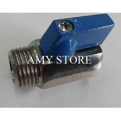 3/8 Female x Male BSPP Threaded 316 Stainless Steel Mini Ball Valve PN63<br><br>Aliexpress