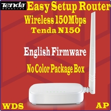 [English Firmware] TENDA N150 150M 150Mbps WiFi Wireless Home Router Easy Install PPoE Router, 4 ports 802.11N, no box, Prom-(China)