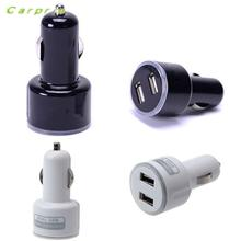 CARPRIE Car 12V Universal 5V 2A Dual USB Charger For iPhone6 ipad ipod Cellphone(China)