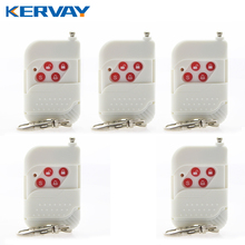 Buy 5pcs Wireless Plastic Remote Control 433MHz Key Telecontrol PSTN GSM Burglar Security Home Alarm System Free for $14.25 in AliExpress store
