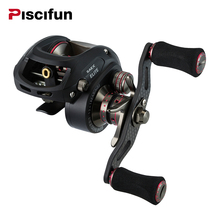 Piscifun SAEX ELITE Baitcasting Fishing Reel Right Left Hand 13BB 7.3:1 167g Super Light Bait Casting Fishing Reel(China)